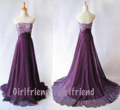 prom dress prom dress #evening purple dress #coniefox #2016prom