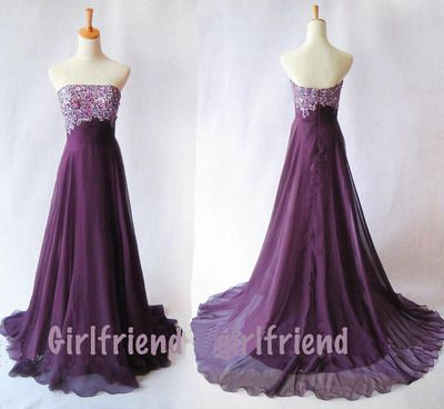 prom dress prom dress #evening purple dress #coniefox #2016prom