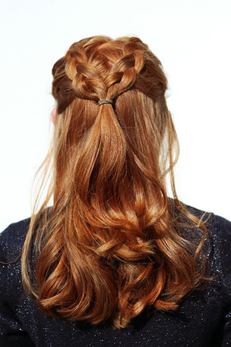 Red Braid Curls Beachwaves Bun Ginger Strawberry