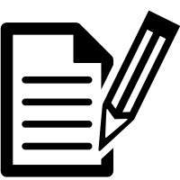 Check out write icon created by iconoci