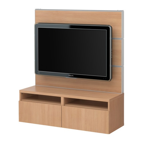 BESTÅ/FRAMSTÅ TV panel with media storage IKEA Smooth running drawers with drawer stop. $200
