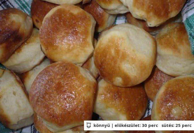 Kelt-hajtogatott krumplis pogácsa