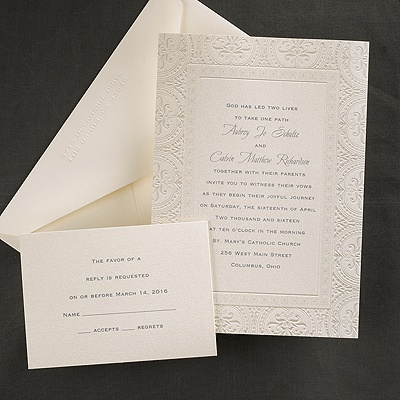 86 best Classic   Traditional Wedding Invitations images on - invitation non formal