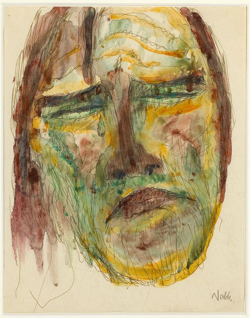 Emil Nolde | Apostelkopf (Head of an Apostle) (1909) | Available for Sale | Artsy