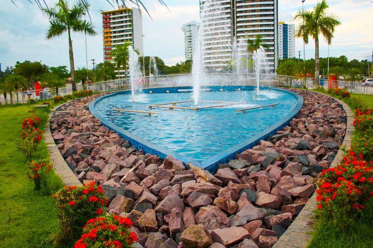 Ponta Negra Beach Manaus Am Brazil
