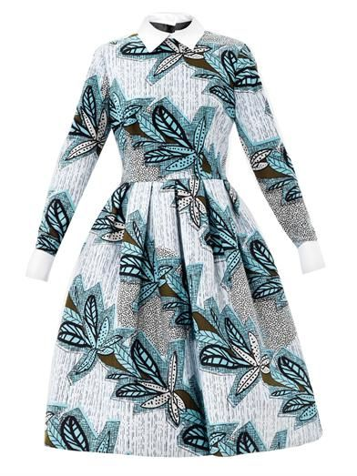 Stella Jean Mandisa print dress