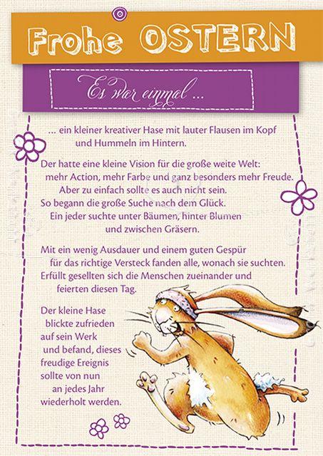 Frohe Ostern - Postkarten - Grafik Werkstatt Bielefeld