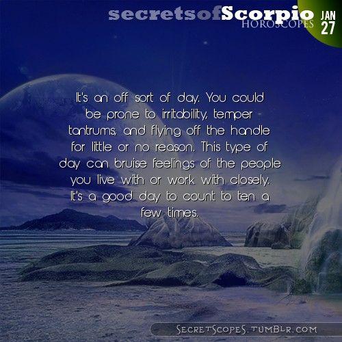 Scorpio Horoscope. Want tomorrow's Scorpio horoscope?   Visit iFate.com today!