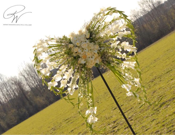 Angel Wings Floral design                                                                                                                                                     More