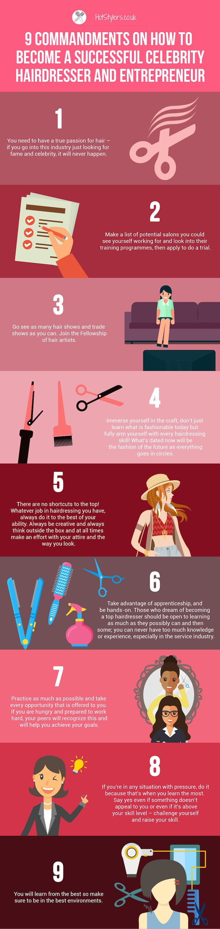 10 quick and easy hairstyles step by step the learnify - 9 Commandments On How To Become A Successful Celebrity Hairdresser And Entrepreneur