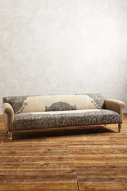 Dhurrie Sofa - anthropologie.com. LOVE this sofa!!