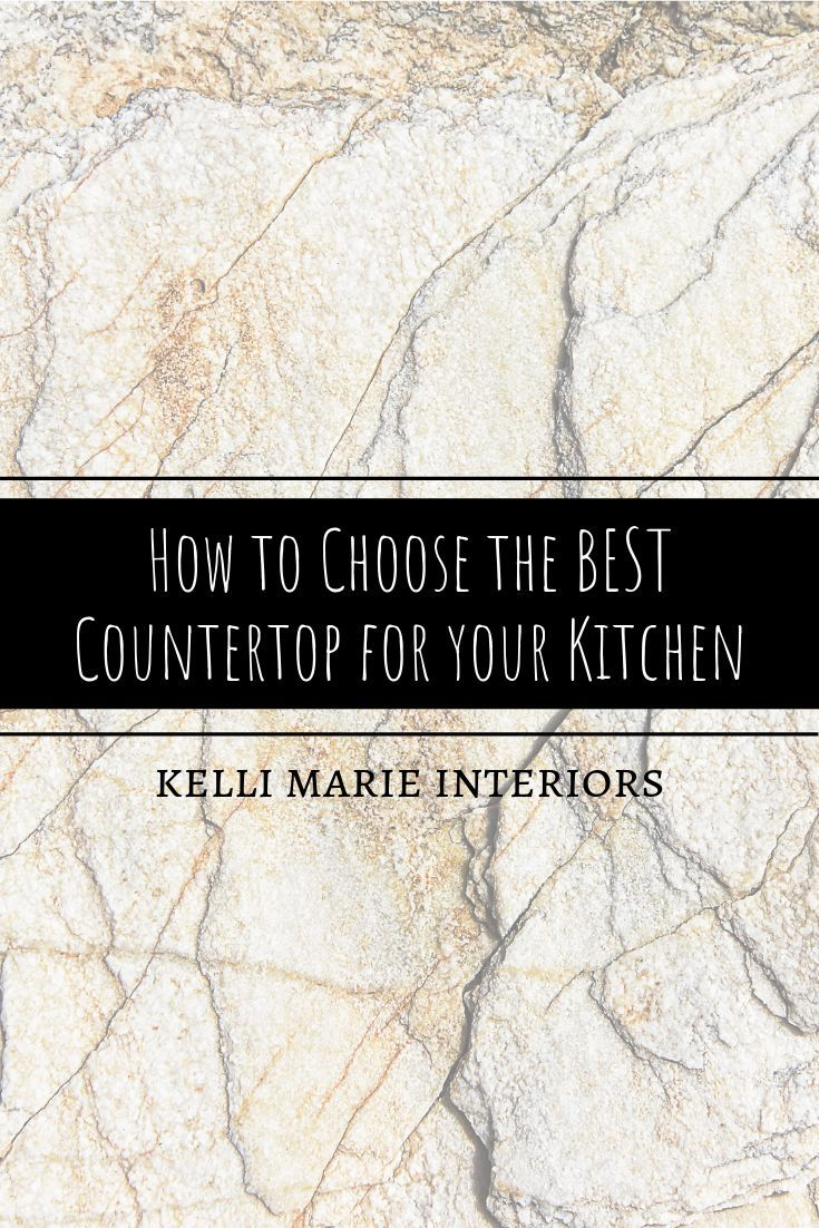 Choosing The Best Kitchen Countertop Blog In 2020 With Images
