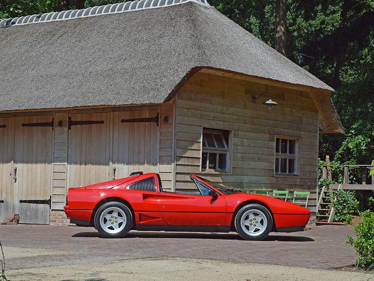 Ferrari 208 Gts Turbo Intercooler Antique Classic Vintage Cars