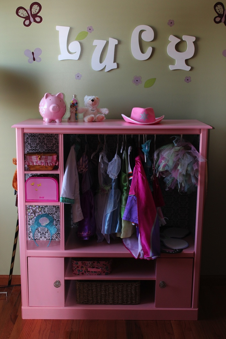 Cabinet Design For Clothes For Girls best 25+ dress up stations ideas on pinterest | dress up closet