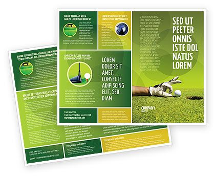 17 Best Golf-Graphic Images On Pinterest | Brochures, Brochure