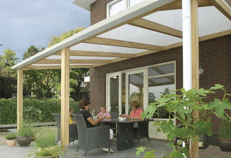Veranda / terrasoverkapping model 500 afmetingen 500 x 300 cm van Bear County