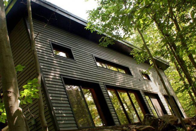 La maison Edelweiss repousse les standards éconergétiques - Architecture - Journal de l'habitation