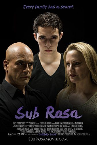 Sub Rosa , 2014 USA ,short movie 22 min , by Krisstian de Lara .  The teenager Alan (Mario Temes 18-y) and his stepmother Edna (Julie Kendall)
