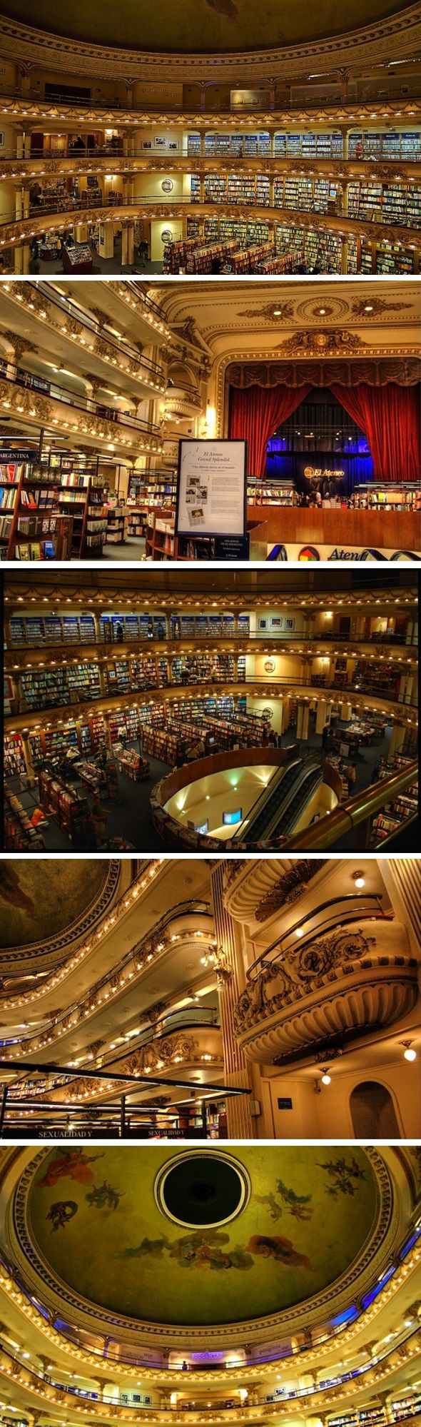 Buenos Aires theater-turned-library