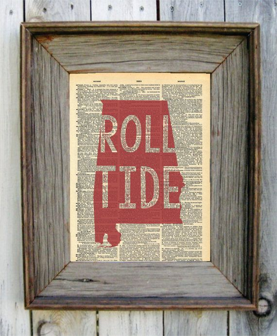 Alabama outline with heart over Tuscaloosa. Alabama themed and a perfect gift for that Crimson Tide fan in your life. Roll Tide.    All designs