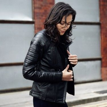 Womans Leather 3 Motorcycle JacketsMotorcycle