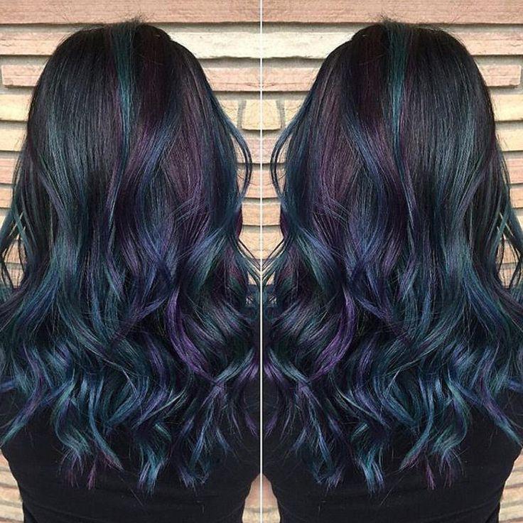 """Mermaidian Hairstyles on Instagram: """"Peacock!  Hair by: @itsjerryanthonyhair  #mermaidians """""""