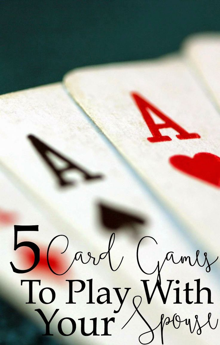 5 Card Games To Play With Your Spouse