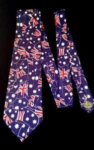 Aussie Aussie Aussie! Great Australian tie by Moulin Rouge. Look stylish and have fun.