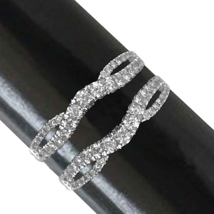14k solid gold split shank solitaire enhancer 63ct diamonds ring guard wrap affinityjewelry - Wedding Ring Guard