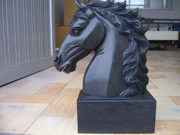 escultura cabeza de caballo - Buscar con Google