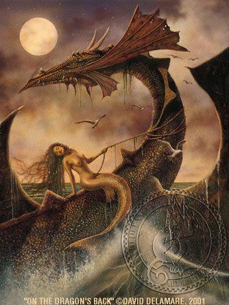 Fantasy Mermaids | ... Back: Mermaid Painting by David Delamare (Mermaid Art Gallery