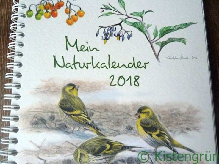 "Geschenk-Tipp: ""Mein Naturkalender 2018"""