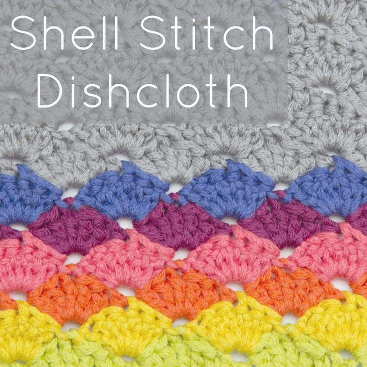 Único Fácil Crochet Shell Patrón De Puntada Galería - Manta de Tejer ...