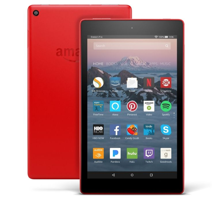 517857 amazon fire hd 8 32gb tablet with case voucher