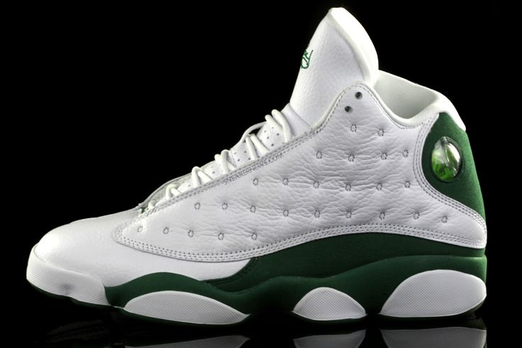 """Top # 10 all time shoes. Ray Allen Jordan """"He Got Game's""""  in Celtic hall of fame colors!"""