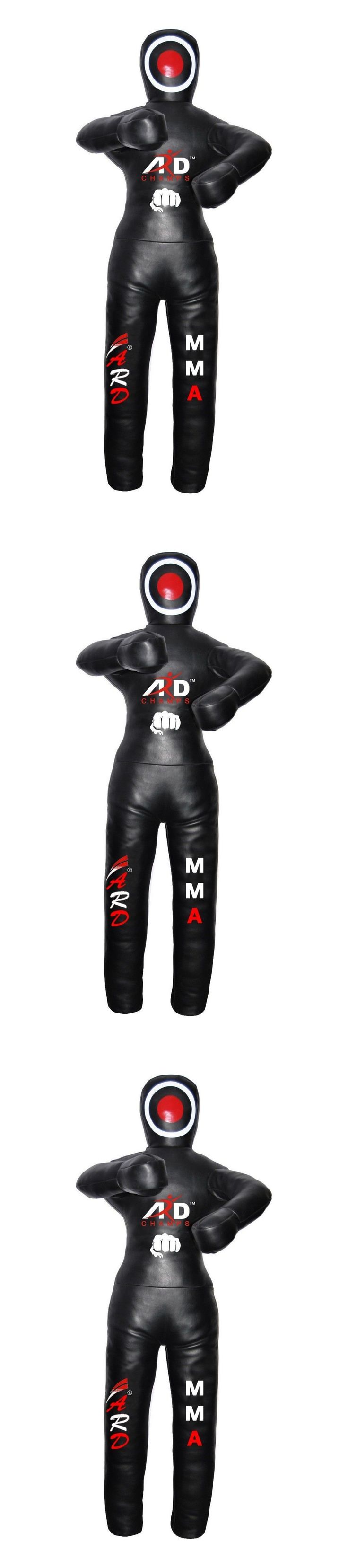 Dummies 179786: Brazilian Jiu Jitsu Grappling Dummy Artificial Leather Mma 59/ 5Ft And 70/ 6Ft BUY IT NOW ONLY: $85.99