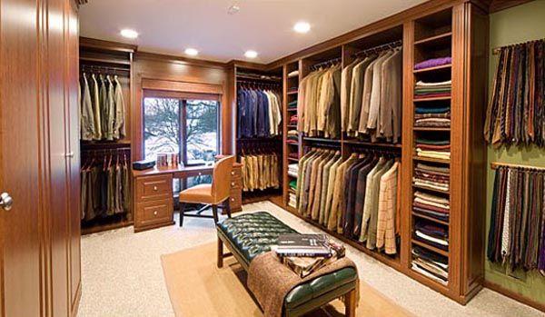 33 Ejemplos de closet o vestier impresionantemente grandes y lujosos   Rincón Abstracto