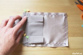 Mira que fácil es aprender a coser un bolsillo de ojal