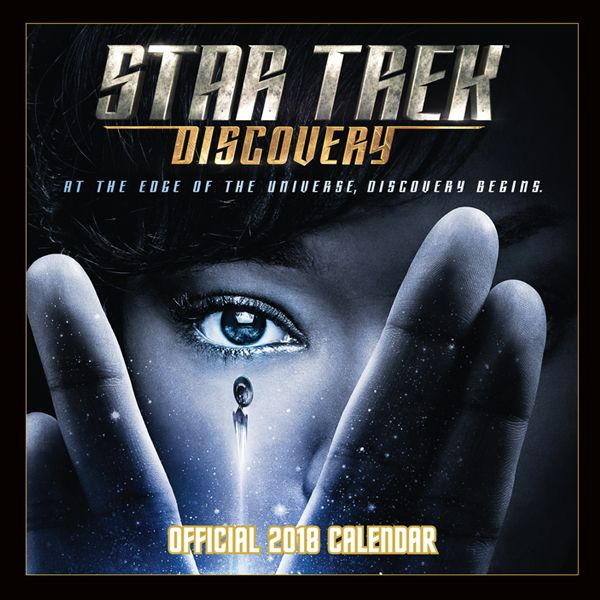 The Official #StarTrekDiscovery 2018 Calendar is now available with #FREE #FirstClass UK Delivery (Worldwide Delivery also available) at http://bit.ly/StarTrekDiscovery2018Cal