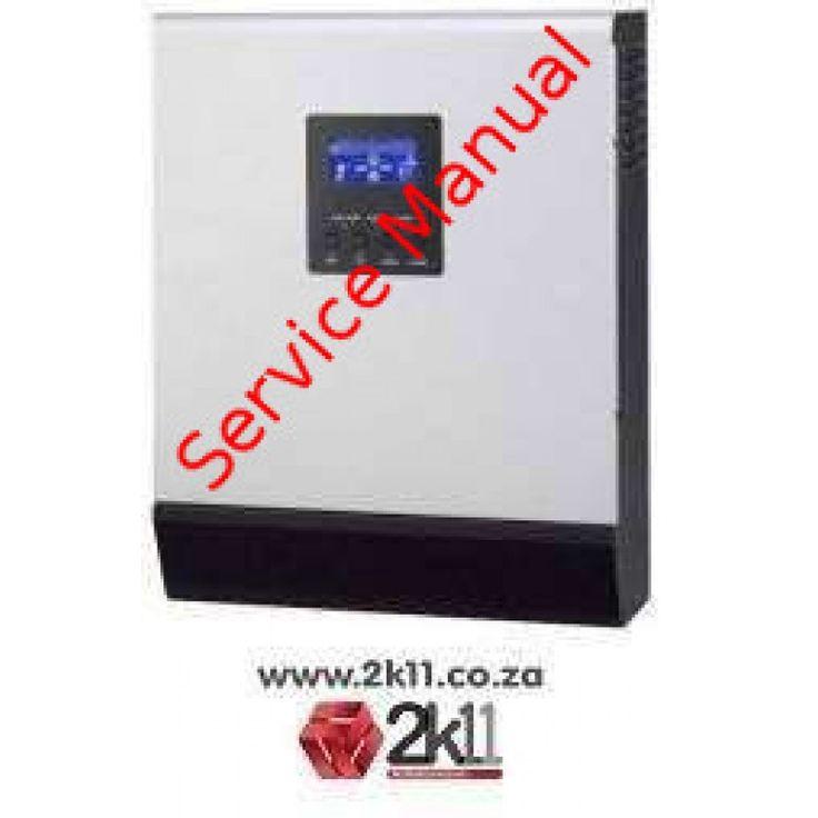 MECER SOLAR HYBRID INVERTER 5000VA-service-manual