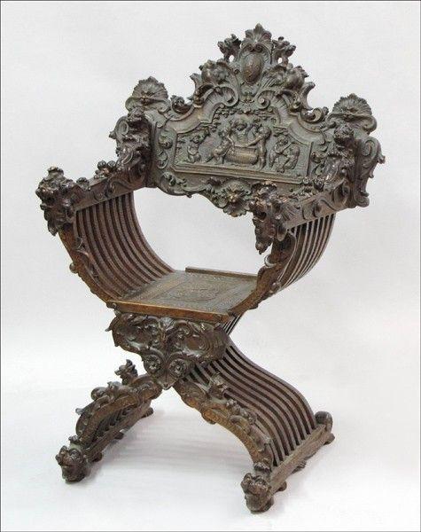 Chap 11 Compare: Italian Renaissance Arm Chair Vs Spanish Renaissance Arm  Chair   Both Chairs Had Decoration, Had A Curved Element, Had A Cushion