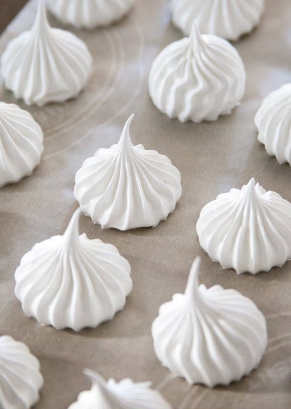 So simple and pure, meringue makes for the lightest, almost cloud-like cookies and pastries