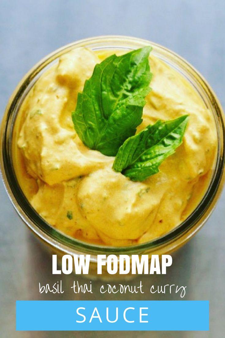 Low FODMAP Basil Thai Coconut Curry Sauce