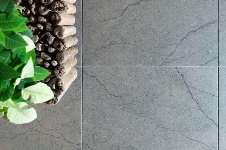 https://flic.kr/p/JN3s4G | Silver limestone with nice veins by Resido | transilvania grey limestone www.resido.ro www.gray-limestone.com