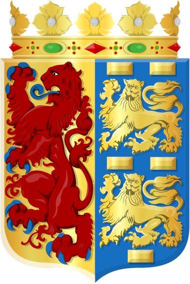 Noord-Holland wapen - Holanda Septentrional, es una de las doce provincias que conforman el actual Reino de los Países Bajos. Al igual que las demás provincias, está gobernada por un comisionado. La capital es Haarlem; otras ciudades importantes: Ámsterdam (capital del país), Hilversum, Alkmaar, Zaandam y Hoorn. Las provincias de Holanda Septentrional y Holanda Meridional nacieron en 1840 de la división de la antigua provincia de Holanda