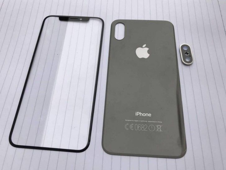 Front and rear panels for the iPhone 8 leak, glass backs for iPhone 7s and 7s Plus too  #Iphone8 #iPhone7s #front #rear #technews #phones