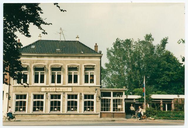 Restaurant Boschhuis Hereweg Tegenover het Sterrebos 1987