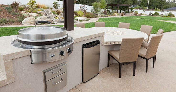 Custom outdoor bbq islands bbq island ideas pinterest for Outdoor grill island ideas