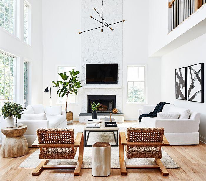 Designer lieben diesen unverkennbaren Stil – dieses Wohnzimmer beweist es