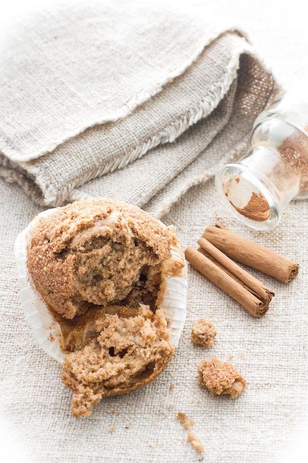 Muffin mele, cannella e noci